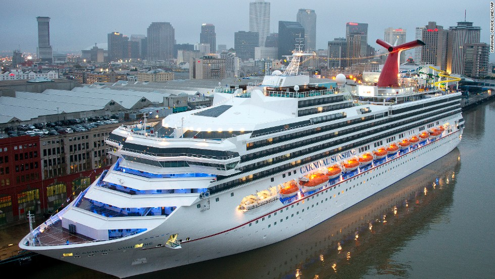 Night Caribbean Western With Carnival Triumph Virikson Cruises - New orleans cruise ship terminal