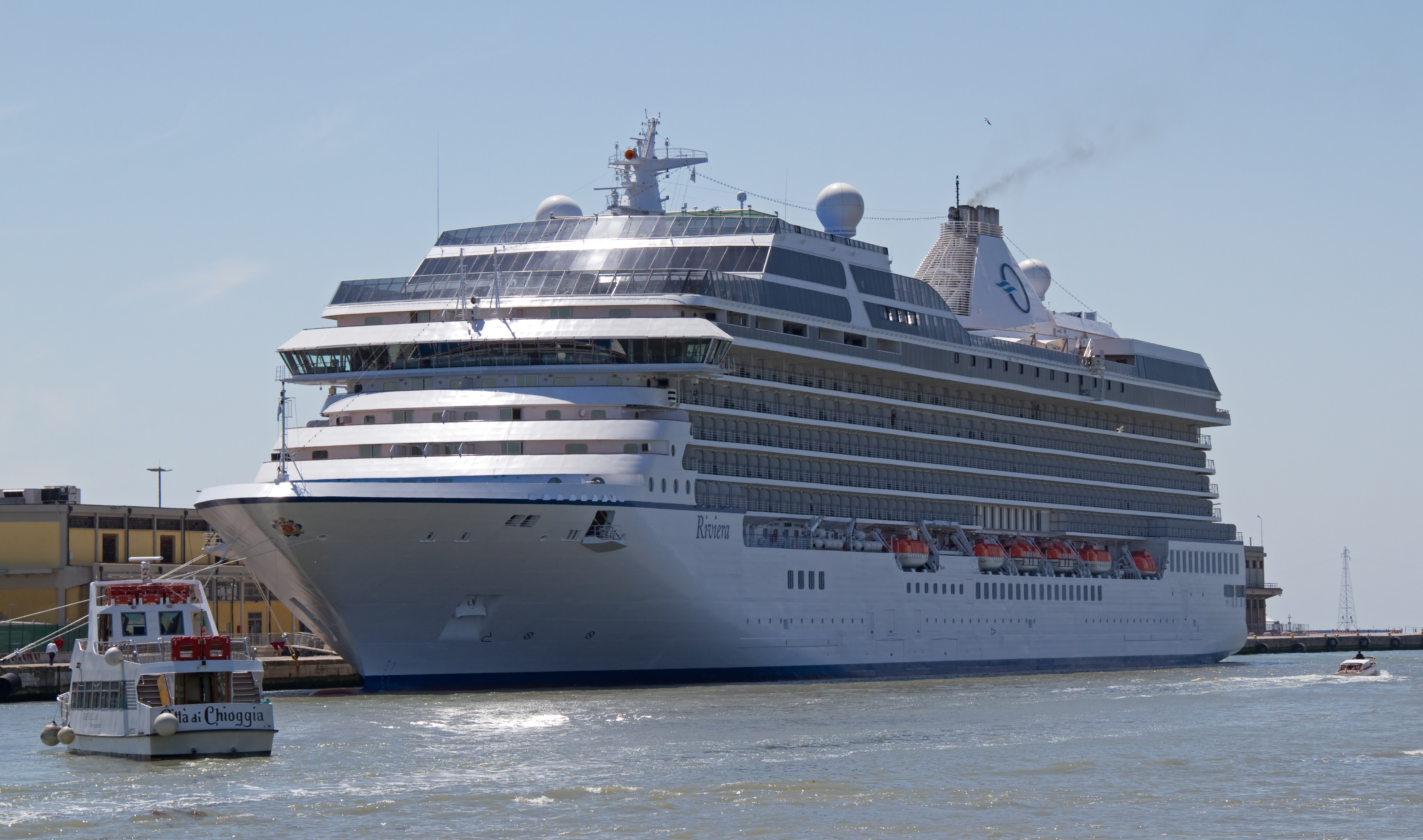 Oceanias Riviera Cruise Ship 2018 and 2019 Oceania